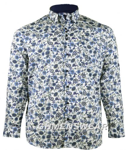 Cotton Valley Long Sleeved Floral Print Shirt